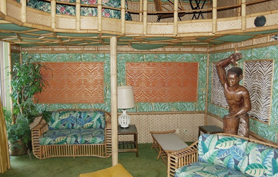 The Tarzan Room at the Astroworld Hotel's Celestial Suites